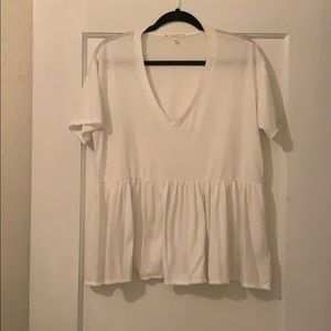 Truly Madly Deeply Babydoll Tee Size M